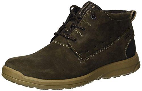 Rockport Men's Rydley Chukka Boot, dark bitter chocolate, 11.5 M US ()
