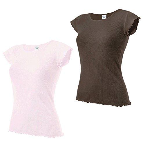e.FEMME - Camiseta sin mangas - para mujer rosa, marrón