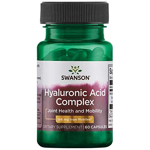 Ultra Joint Complex (Swanson Super Potency Hyal-Joint Hyaluronic Acid Complex 166 Milligrams 60 Capsules)