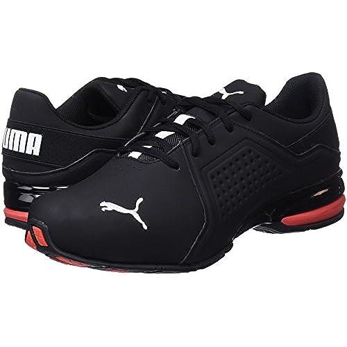 Puma Viz Runner, Chaussures de Cross Homme, NoirBlanc, 43