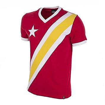 COPA Football - Camiseta Retro Congo 1968 Copa de Africa (S): Amazon.es: Deportes y aire libre