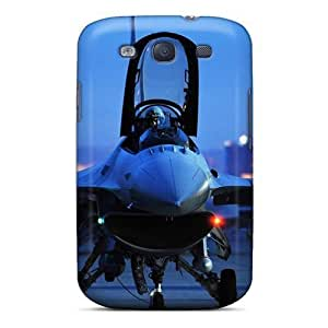 F 16 At Night/ Fashionable For HTC One M7 Case Cover