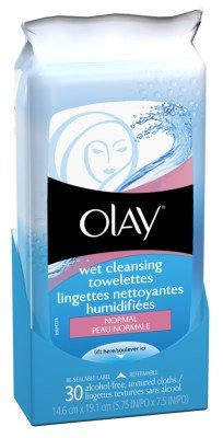 Olay Wet Towelettes Normal 30 Count