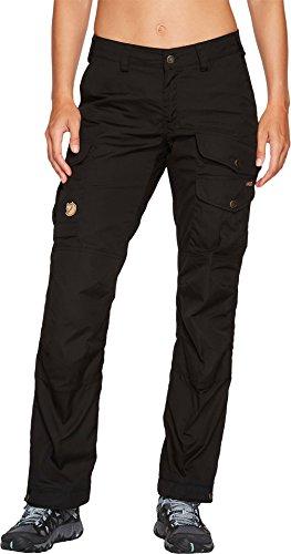 Fjallraven - Women's Vidda Pro Trousers Short, Black-Black, 36 by Fjallraven