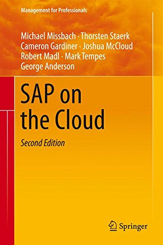 SAP on the Cloud (Management for Professionals) by Springer