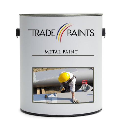 Direct to Metal Paint (1 Litre, Chocolate Brown RAL 8017) Trade Paints