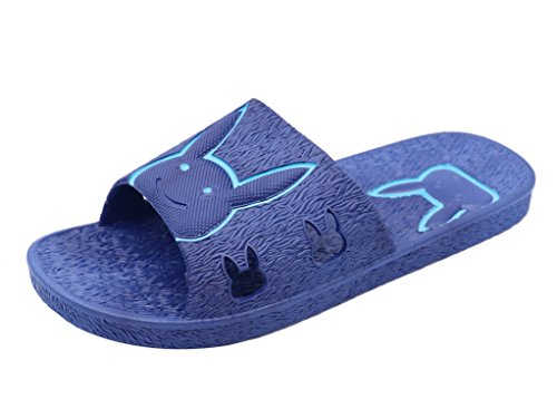 Floor Insun Shower Blue 2 Pack Slipper Mens PVC Bath Sandals IwqCUHwx