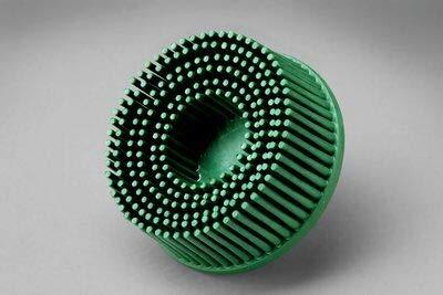 40 -PK 3M 18730 Scotch-Brite Roloc Bristle Disc 2 Inch X 5/8 Tapered 50 Grit // 7000000742