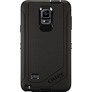 OtterBox Samsung Galaxy Note 4 Case Defender Series - Retail Packaging - Black