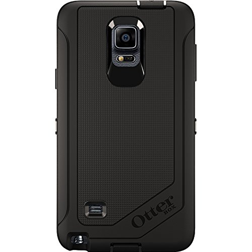 Price comparison product image OtterBox Samsung Galaxy Note 4 Case Defender Series - Retail Packaging - Black