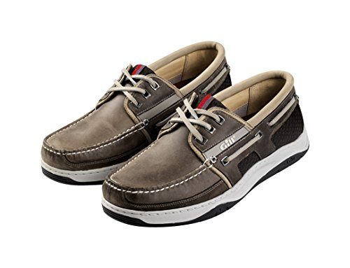 Gill Newport 3 Eyelet Deck Shoe BROWN 925 Gris LktD5