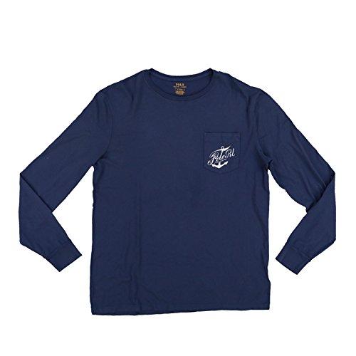 Polo Ralph Lauren Mens Long Sleeve Graphic T-Shirt