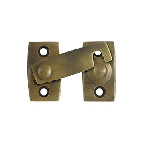 Brass Latch Bar - Deltana SB3178U5 7/8-Inch Shutter Bar/Door Latch