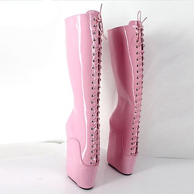 Da Novità Boots Over Winter Ruby Pu Fall Party Stivali Boots Sera 4u amp; Stivali Best amp; Evening Platform Autunno 5in amp; Donna Fashion Piattaforma Novelty Women's Rubino Moda Oltre Pu amp; 4u Party Migliore Inverno 5in T0UwqRB