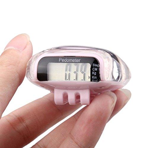 Sinfu 1PC Hot Sale Watch Mini LCD Pedometer Walking Run Step Calorie Distance Calculation Counter (E)