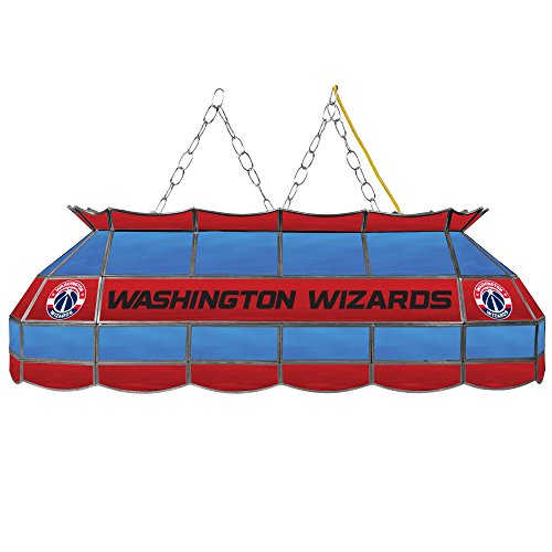 NBA Washington Wizards Tiffany Gameroom Lamp, 40'' by Trademark Gameroom