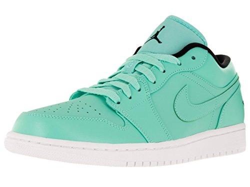 Nike Jordan Menns Luft Jordan En Lav Basketballsko Hyper Turq / Hvit // Svart