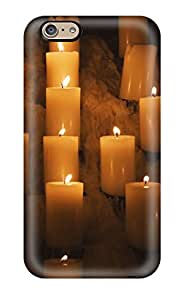 Hot Style XcZldih3003nVPjp Protective Case Cover For Iphone6(candle Lights)