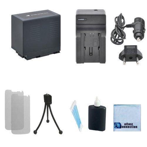 CGR-D54 High-Capacity Battery For Panasonic + Car/Home Charger for NV-RX11EG, NV-RX22EG, NV-RX33EG, NV-RX66EG, PV-DBP8, PV-DBP8A, PV-DC152, PV-DC252, PV-DC352, PV-DV100, PV-DV100K & More.. Camcorder + Complete Starter Kit