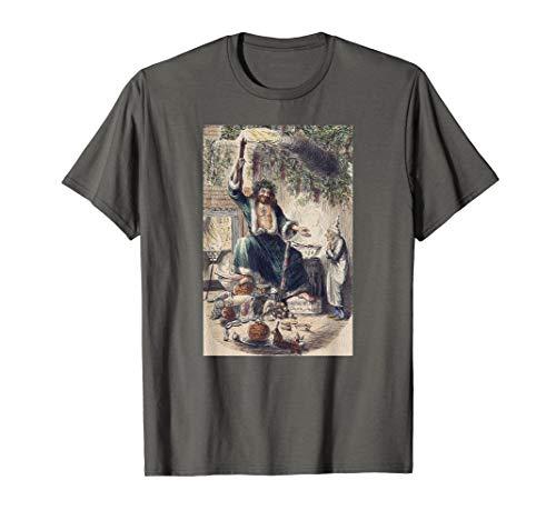 A Christmas Carol Scrooge Shirt- Christmas Present Ghost Tee (A Christmas Carol Ghost Of Christmas Present)