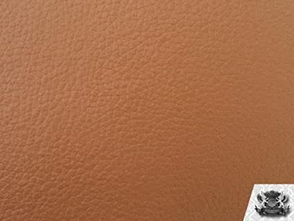 Amazon Com Vinyl Champion Tan Fake Leather Upholstery Fabric By The