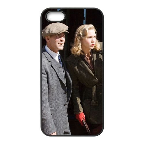 Leatherheads 2 coque iPhone 5 5S cellulaire cas coque de téléphone cas téléphone cellulaire noir couvercle EOKXLLNCD25455