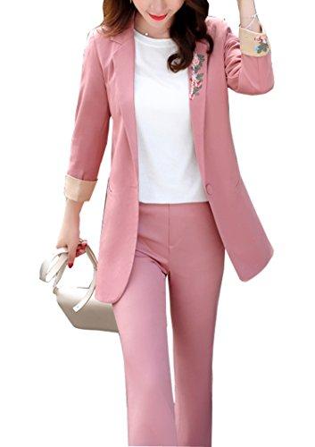 オークランド登録する十億レディース スーツ パンツ セットアップ カジュアル 春 おしゃれ 入学式 フォーマル ママ 結婚式 きれいめ