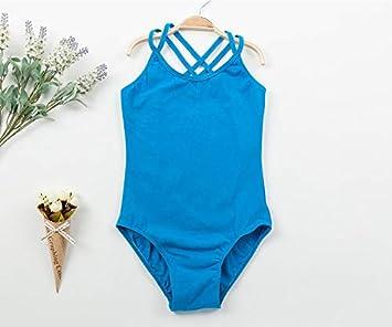 c958ffe311300 Amazon.com: ForShop Double Strap Camisole Girls Leotard for Ballet ...