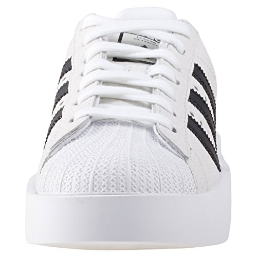 adidas Damen Superstar Bold W Fitnessschuhe, Weiß, 41_1_3 Mehrfarbig (Ftwbla/Negbas/Ftwbla)