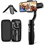 3-Axis Gimbal Stabilizer for iPhone X XR XS Smartphone Vlog Youtuber Live Video...