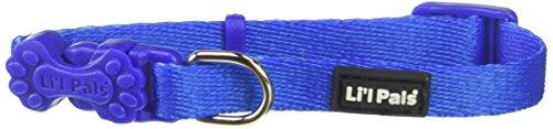 Coastal Pet Products DCP221BLU 5/16-Inch Nylon Pals Dog Collar, XX-Small, Blue ()