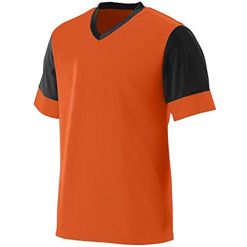 Augusta Sportswear Men's Lightning Jersey 3XL Orange/Black ()