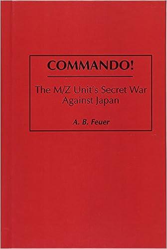 The M/Z Unit's Secret War Against Japan