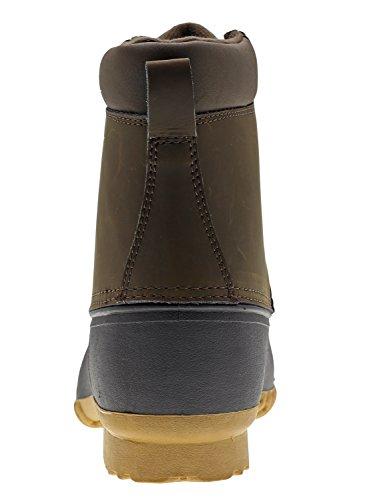 Arctic Shield Mens Waterproof Insulated Durable Comfortable Work Outdoor Duck Boots Dark Brown sdr2VEejh