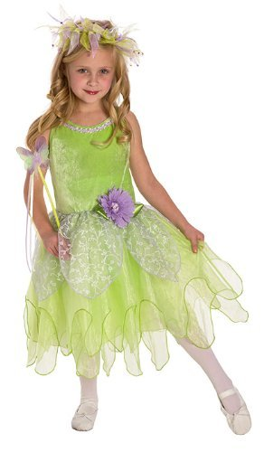 Little Adventures Tinkerbell Fairy Dress Up Costume Size Medium Age 3-5