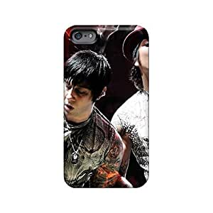 Excellent Hard Cell-phone Cases For Iphone 6plus With Allow Personal Design Realistic Avenged Sevenfold Series VIVIENRowland