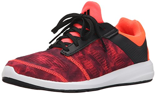 Image of the adidas Performance S-Flex K Running Shoe,Black/Red/White,12 M US Little Kid
