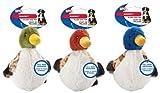 Ethical Pets Quacks Dog Toy, 6-Inch
