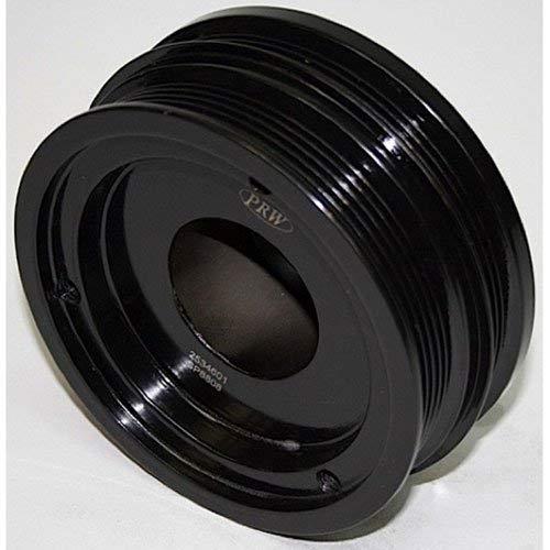 damper- gm 5.7L LS1, Undrdrive, serp belt, black ()