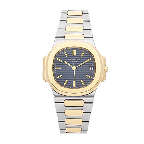 Patek Philippe Nautilus Mechanical (Automatic) Blue Dial Mens Watch 3800/001 (Certified Pre-Owned) (Patek Philippe Watches Nautilus Mens Stainless Steel)