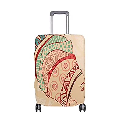 aa7507522a 85%OFF LORVIES African American Girls Print Travel Luggage Protective  Covers Washable Spandex Baggage Suitcase