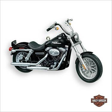 Harley Davidson Motorcycle  9 2007 Hallmark Keepsake Ornament Qx2349 By Hallmark