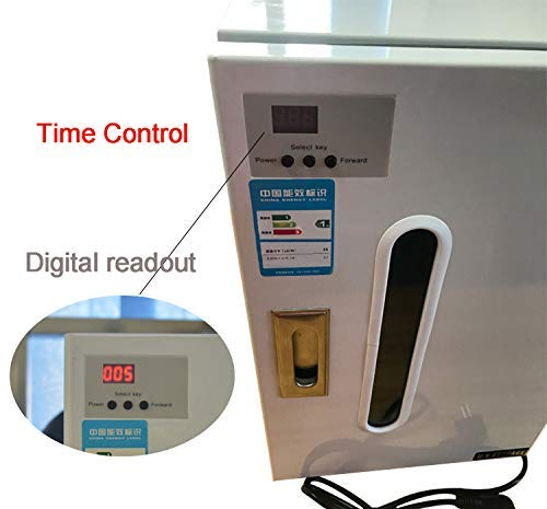 Zgood 27L LED Digital Display UV Steam Cabinet Disinfection Cabinet Automatic Timer with 10 Pallets