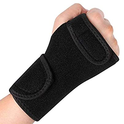 Wristband Sports Wrist Bandage Support Gloves Adjustable Fitness Exercise Tennis Weight Lifting Hand Weights Wraps Estimated Price £18.40 -
