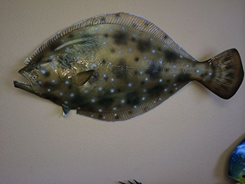 35'' Flounder Half Mount Fish Replica , Fishing Wall & Coastal Decor by Mount This Fish Company (Image #2)