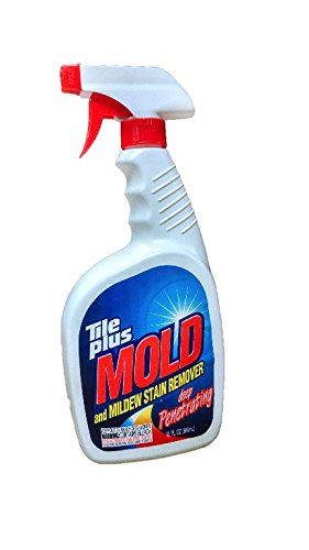 Tile Plus: Mold and Mildew Stain Remover Deep Penetrating Powerful Cleaner (32 Fl. Oz) by Tile Plus Mold Stain Remover