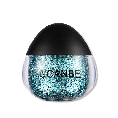 - UCANBE Cream Glitter Gel for Body and Face, 0.63 fl. Oz (glaucous)