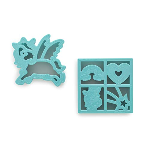Lunchpunch Sandwich Cutter, Unicorn (2-Pack) ()
