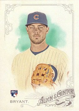 Topps Allen Ginter Baseball Bryant product image
