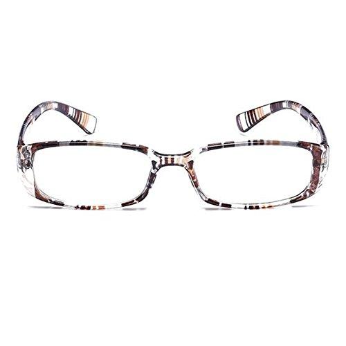 Gafas 5 de Gafas 3 1 lectura Inlefen 1 Raya 2 unisex rectangulares 5 0 5 3 2 0 4 Dioptría 0 Presbicia 0 pEqtv